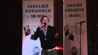 13.6.2015 Iskelmäkaraoken finaali Svante Öström - Sinä ansaitset kultaa (cover)