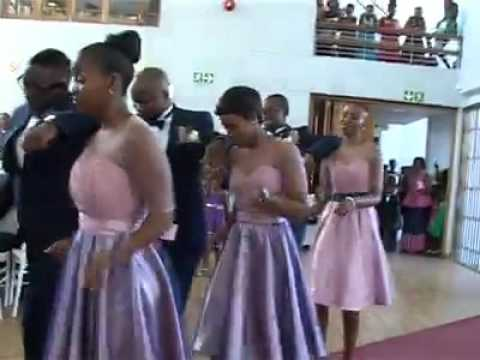 Wedding step choreographed by Afika Higa
