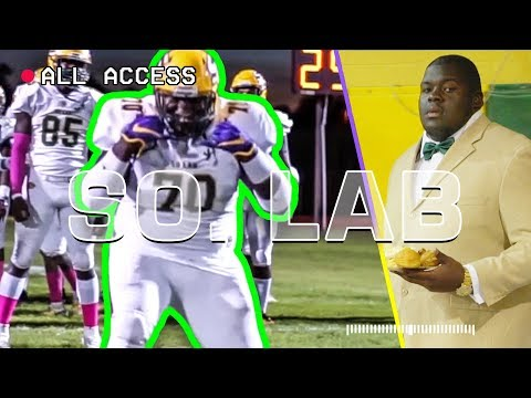 """""""We Get It Out The MUD."""" LSU's Kardell Thomas Shows Us How LOUISIANA Does Friday Night Lights 😈"""