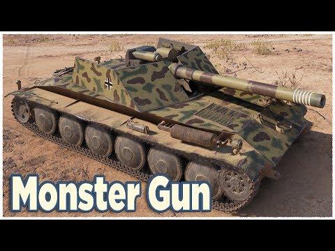 Rhm.-Borsig Waffenträger • 15 Cm Monster Gun • WoT Gameplay