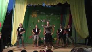 31.07. ДОЛ Дубинина 2 смена 2013 - Клип мания - Dancing Lasha Tumbai
