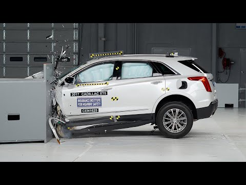 2017 Cadillac XT5 Small Overlap IIHS Crash Test