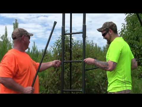 Porta Climb Treestand Demo Youtube