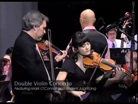 Mark O'Connor's Double Violin Concerto (excerpt) Berklee College Orchestra