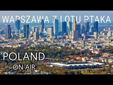 Warszawa z lotu ptaka | POLAND ON AIR