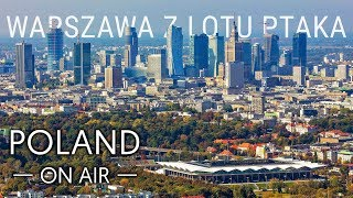 Warsaw from a bird's eye view | POLAND ON AIR