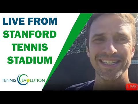 Live from Stanford Tennis Stadium