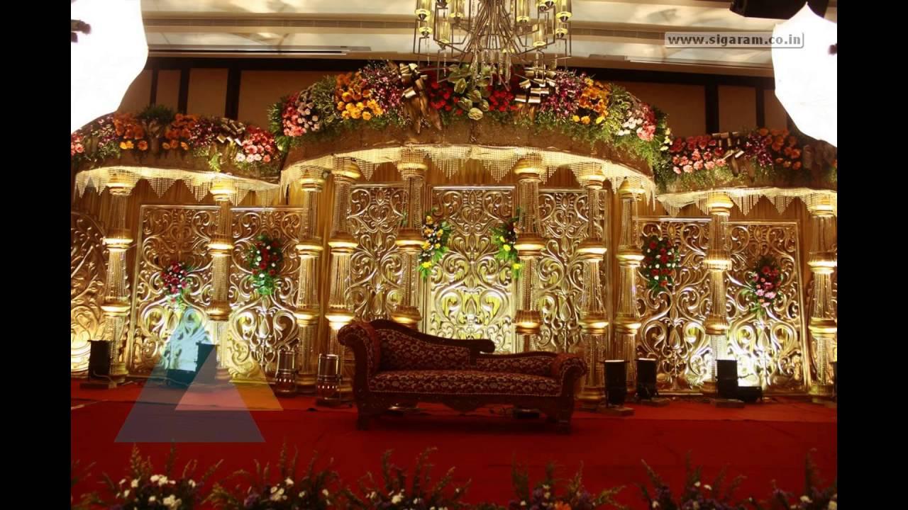 Wedding Stage Decoration At Anandha Inn Pondicherry Youtube