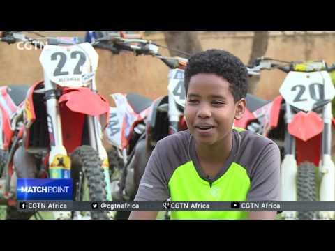 Uganda's Multi-sport Champion: Ali Yasser Omar conquering Motocross as well as Basketball