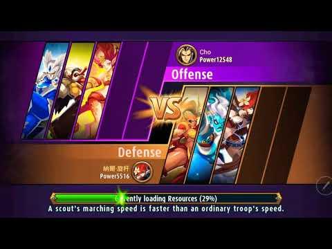 Magic rush heros island crusade level 10