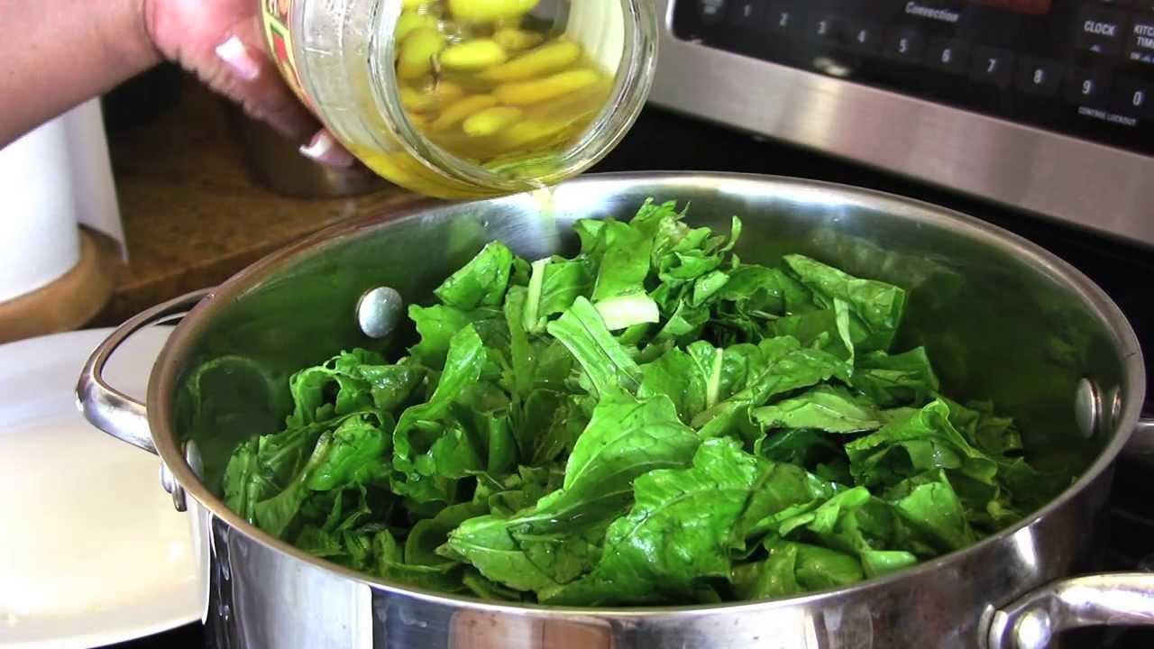 Holiday Series: Turnip Greens w/ Turnips & Ham Hocks