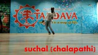 chal maar song tandava academy of art performed by choreographer suchal chalu