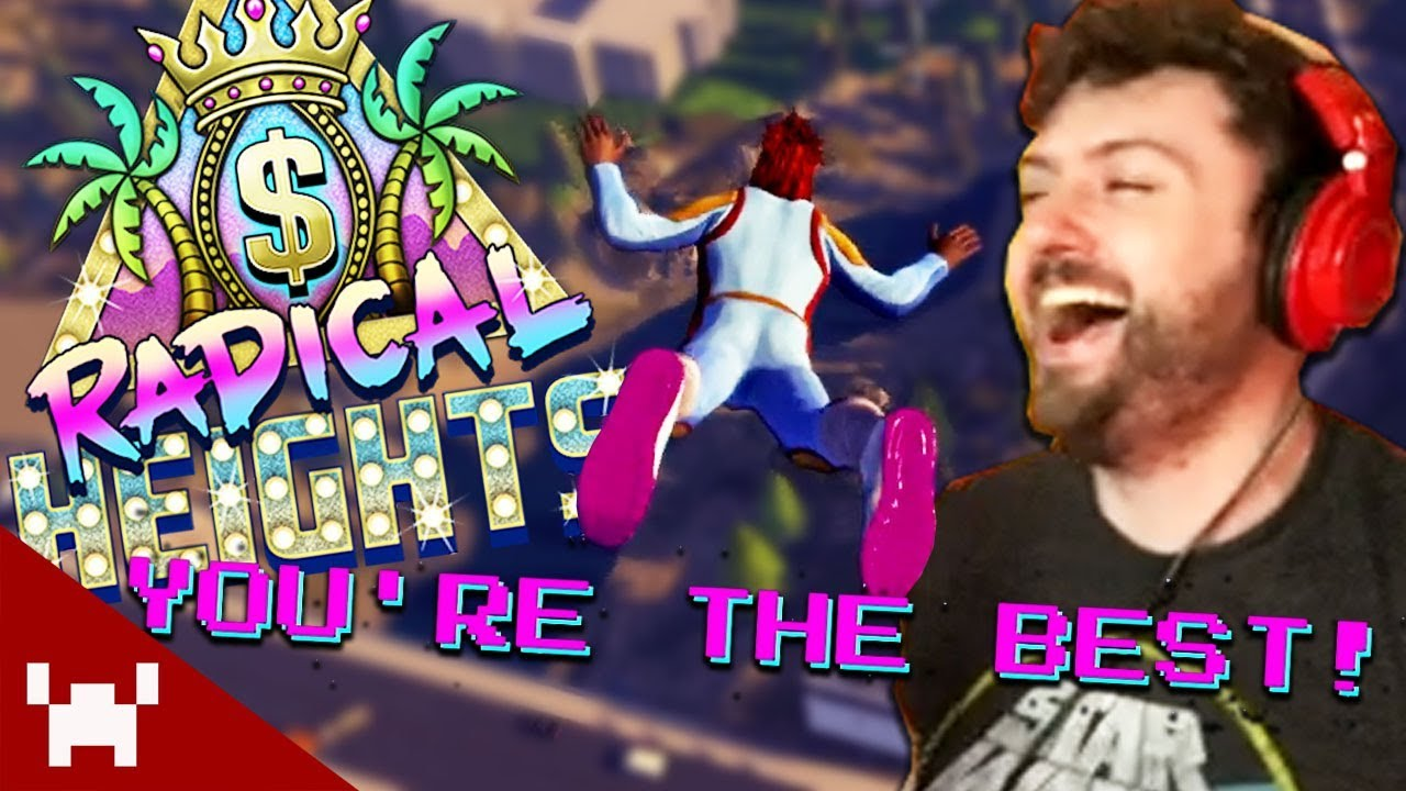 11b52cba6 FIRST GAME WIN | Radical Heights Duos ft. Aphex (80's-Themed BR Game ...