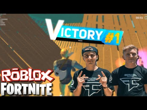 ROBLOX FORTNITE OUT😱TFUE AND CLOAKZY OF STRUCID😱 - YouTube