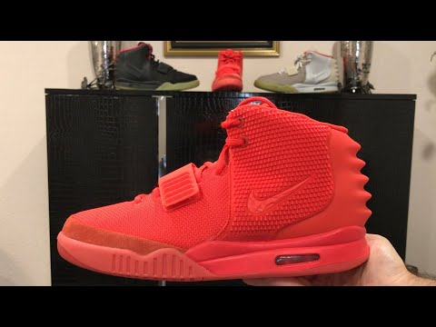 4a3fe3f19ffee Nike Air Yeezy 2 SP Red October Detailed Review (Authentic Kanye West)