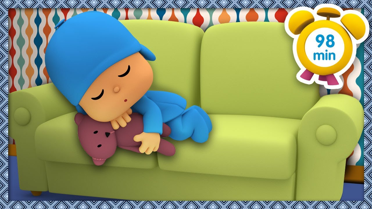 😴 POCOYO in ENGLISH - Nap time [ 98 minutes ] | Full Episodes | VIDEOS and CARTOONS for KIDS