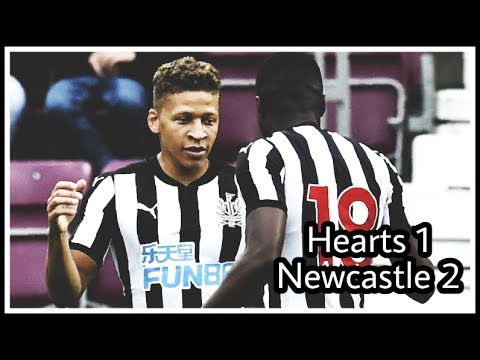 REVIEW | HEARTS 1-2 NEWCASTLE UNITED (INCLUDES GOALS)