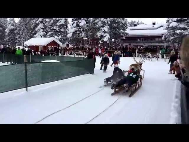 Nordkapp Vintertur 2015 - Video 13 - Renrace