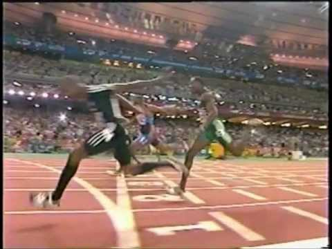 2003 World Championships (100m Final) - Kim Collins (10.07) - Paris, France