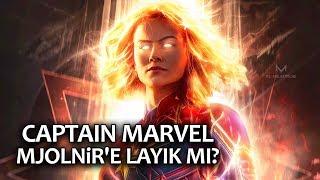Captain Marvel Thor'un Çekici Mjolnir'i Kaldırabilir mi?