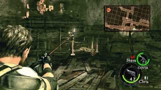 Resident Evil 5 Walkthrough Part 10 ( Veteran Chapter 4-2 )