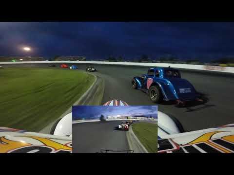 Matt Haufe #44 Ontario Legends Feature#2 at Sunset Speedway August 11 2018