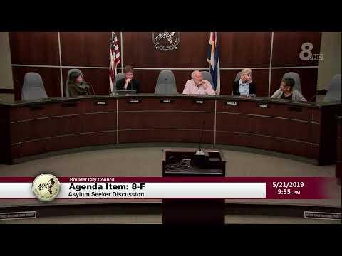 Boulder City Council Meeting 5-21-19