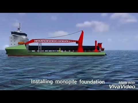 MonoPile foundation