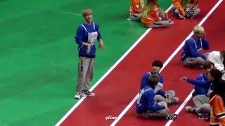 [fancam]160118 아육대 갓세븐(got7) - mark martial arts tricking