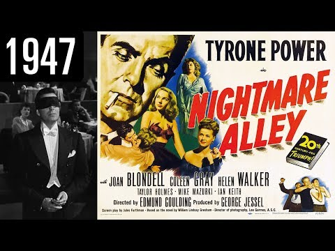 Nightmare Alley  Full  Movie  GOOD QUALITY 1947
