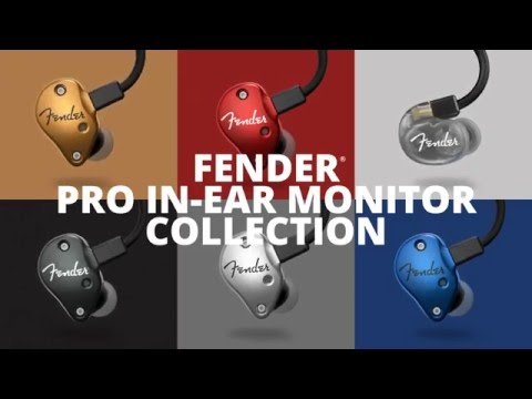 Introducing the Fender Pro Series In-Ear Monitors