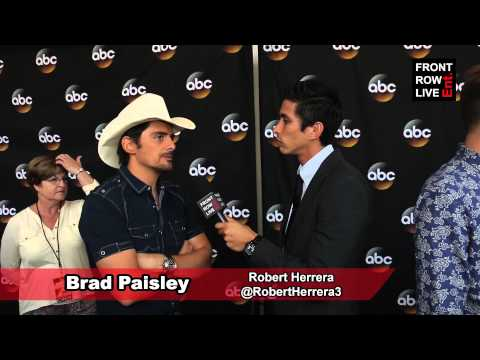 "Brad Paisley talks leaking his album & new song ""Shattered Glass"" w/ @RobertHerrera3"