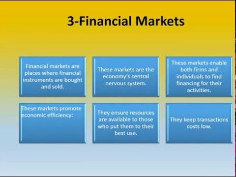 Money and Financial System 1
