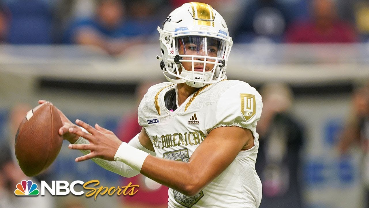 All-American Bowl 2020: Bryce Young leads West over East | EXTENDED HIGHLIGHTS | NBC Sports