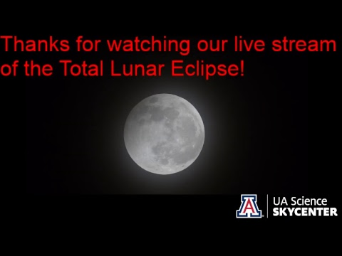 Total Lunar Eclipse from the Mount Lemmon SkyCenter