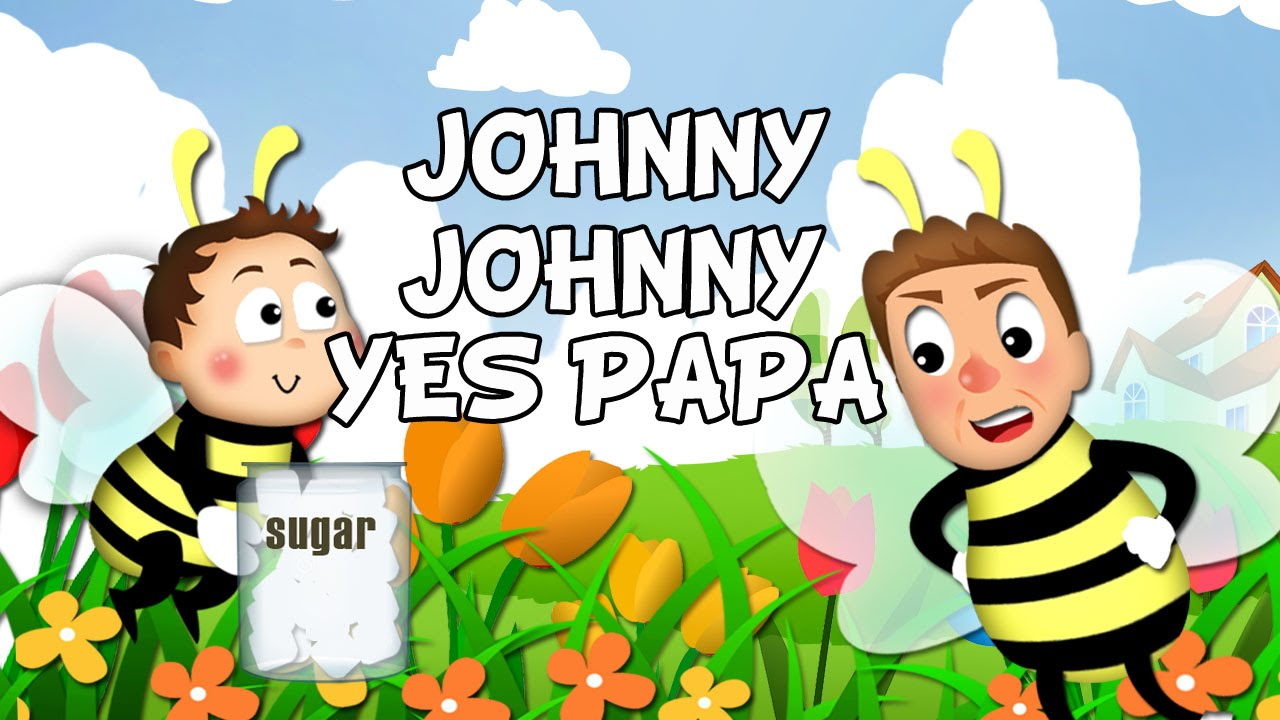 Johnny johnny yes papa (instrumental) | edukayfun.