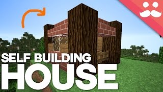 How to Build a Self Building House in Minecraft