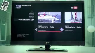 Обзор приложений для LG Smart TV - e02. Youtube