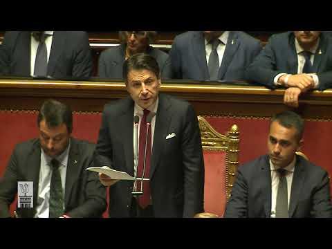Discours en intégralité de Giuseppe Conte au Sénat - 20 août 2019