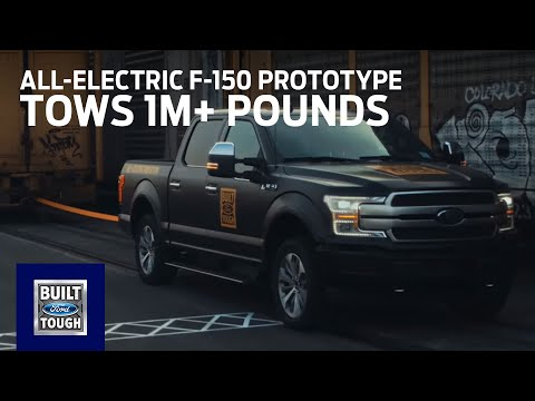 Ford Hints At Arrival Of an All-Electric F-150 In 2021