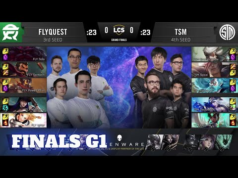 FlyQuest Vs TSM - Game 1   Grand Final Playoffs S10 LCS Summer 2020   FLY Vs TSM G1