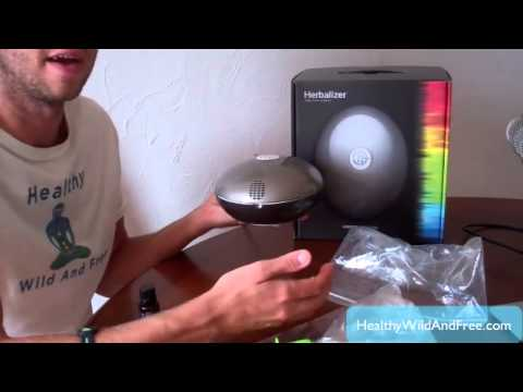 How To Vaporize Essential Oils & Herbs Using Using The Herbalizer (Vapor Therapy)