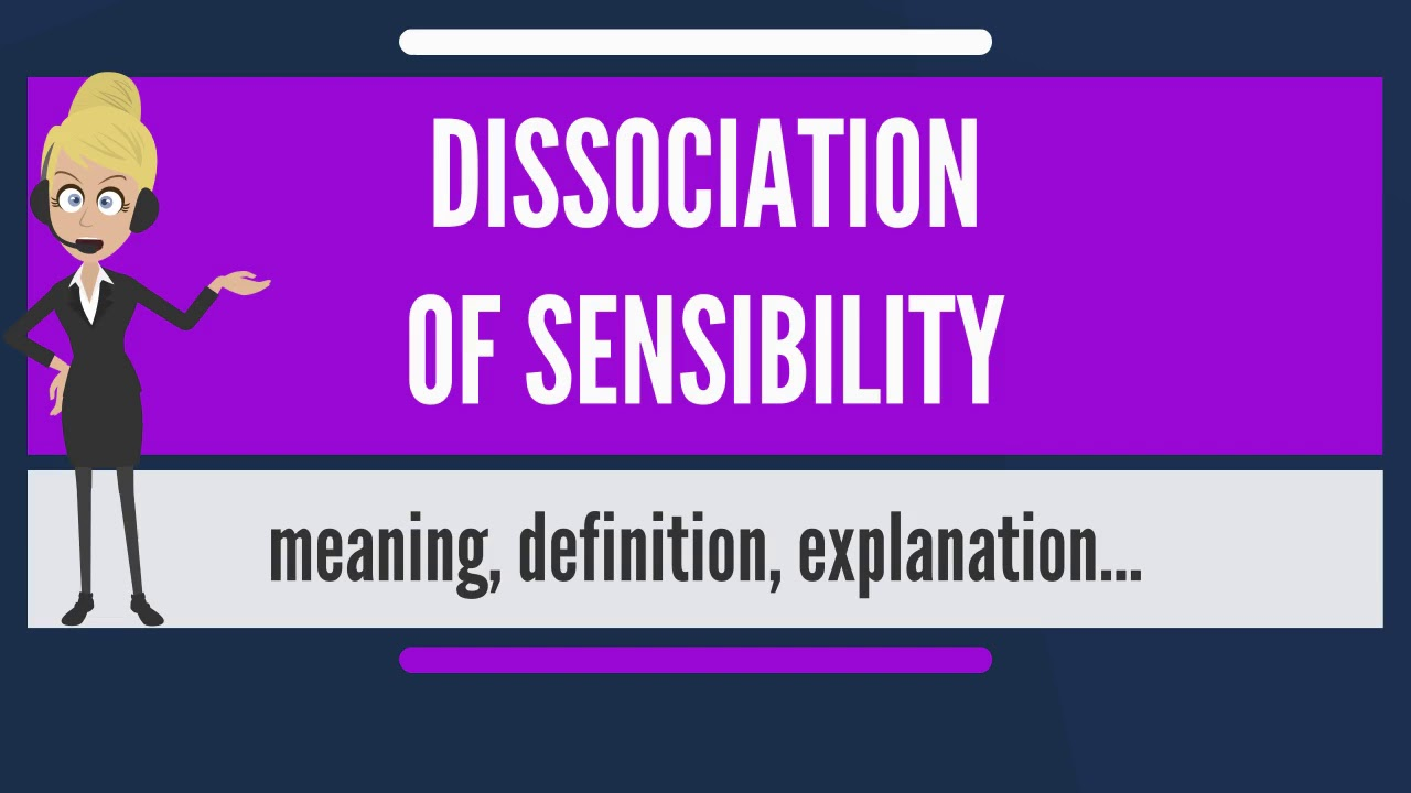 What is dissociation? 21