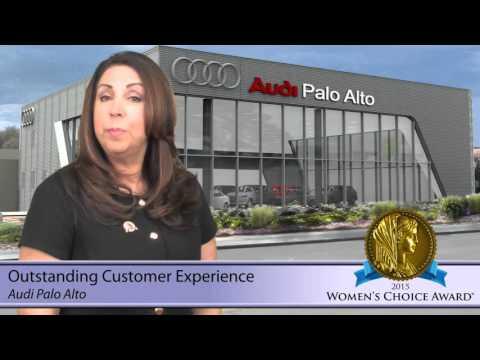 Audi Palo Alto Womens Choice Award Outstanding Customer - Audi palo alto