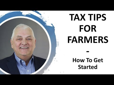 How To Get Started With Farm Taxes