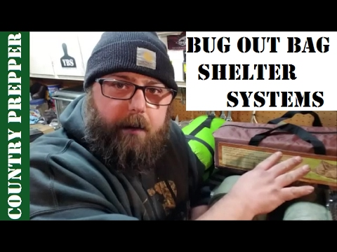 My Bug Out Bag Shelter & Sleep Systems Past and Present