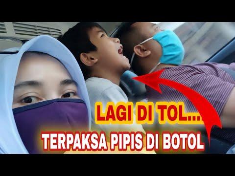 KEBELET PIPIS DI TOL || TERPAKSA PIPIS DIBOTOL