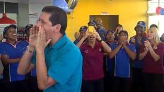 PORRA DOMINOS PIZZA EN PANAMÁ