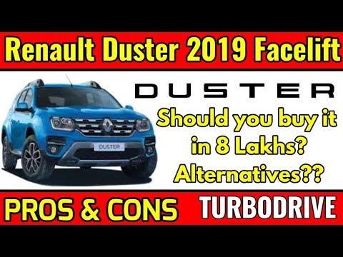 Renault Duster 2019 Facelift   Pros & Cons  Alternatives?  should you buy?