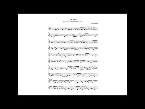 Bumble boogie sheet music